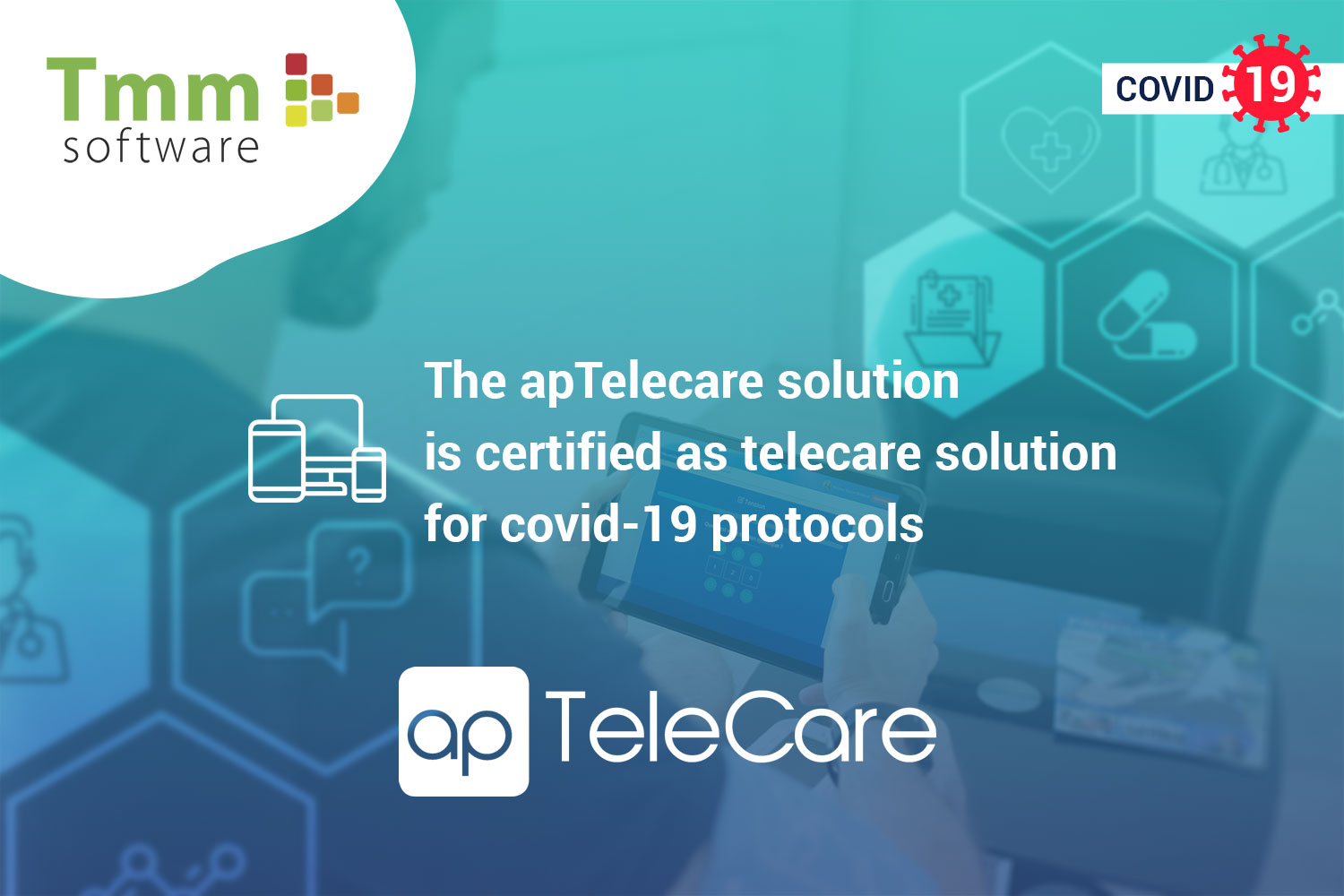 ApTeleCare, medical software solution certified